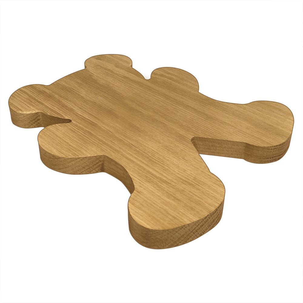Alpha Xi Delta Bear Board or Plaque Side