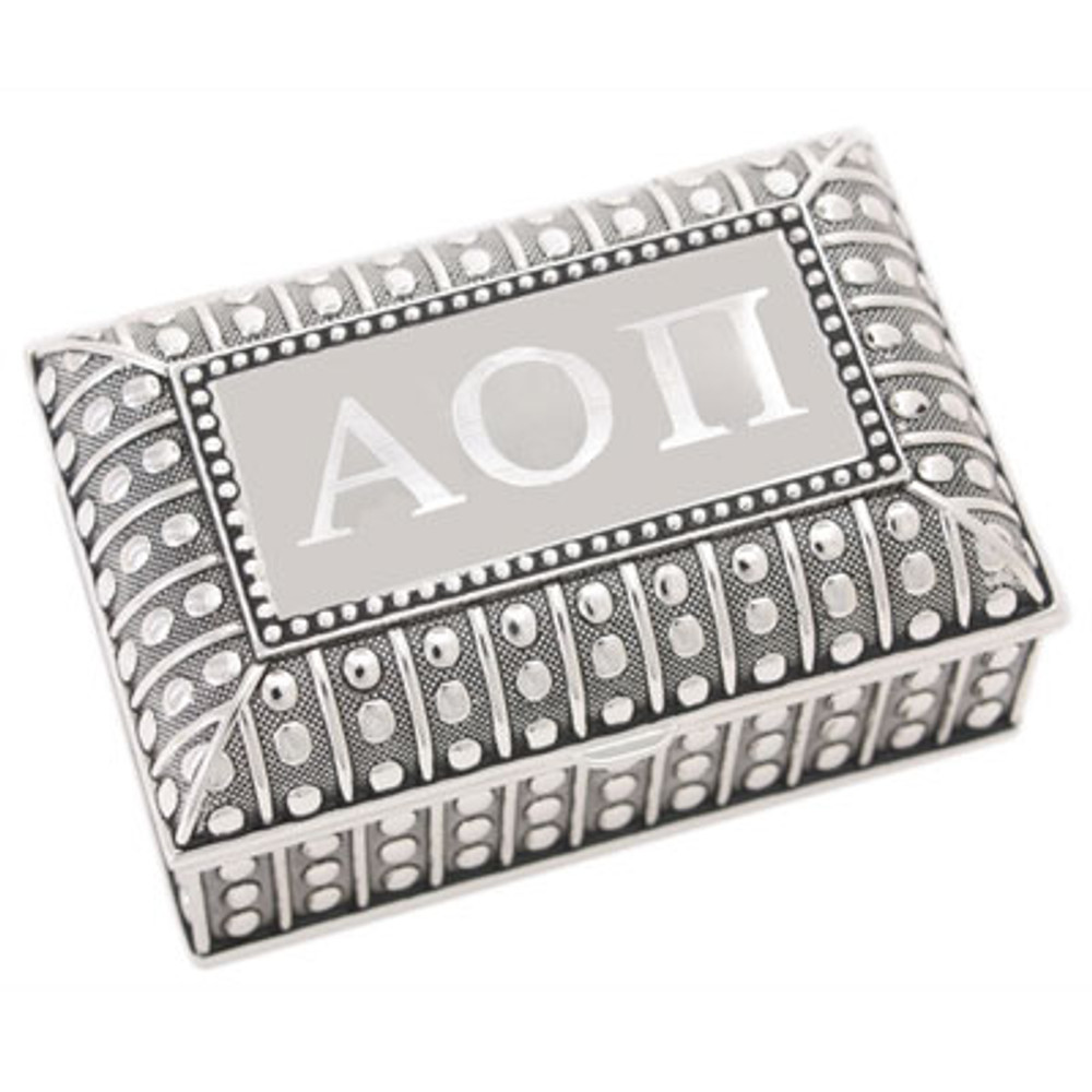 Small Beaded Jewelry Box