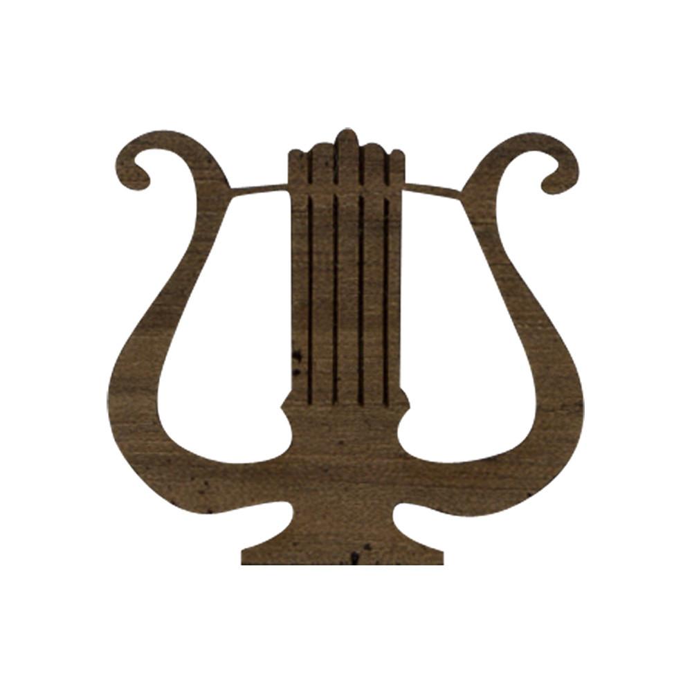 Wooden Lyre Symbol