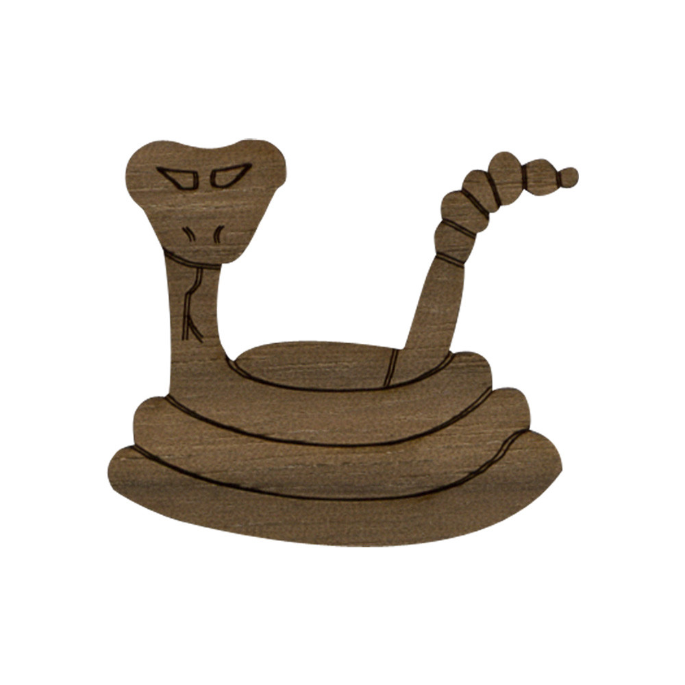 Wooden Snake Symbol
