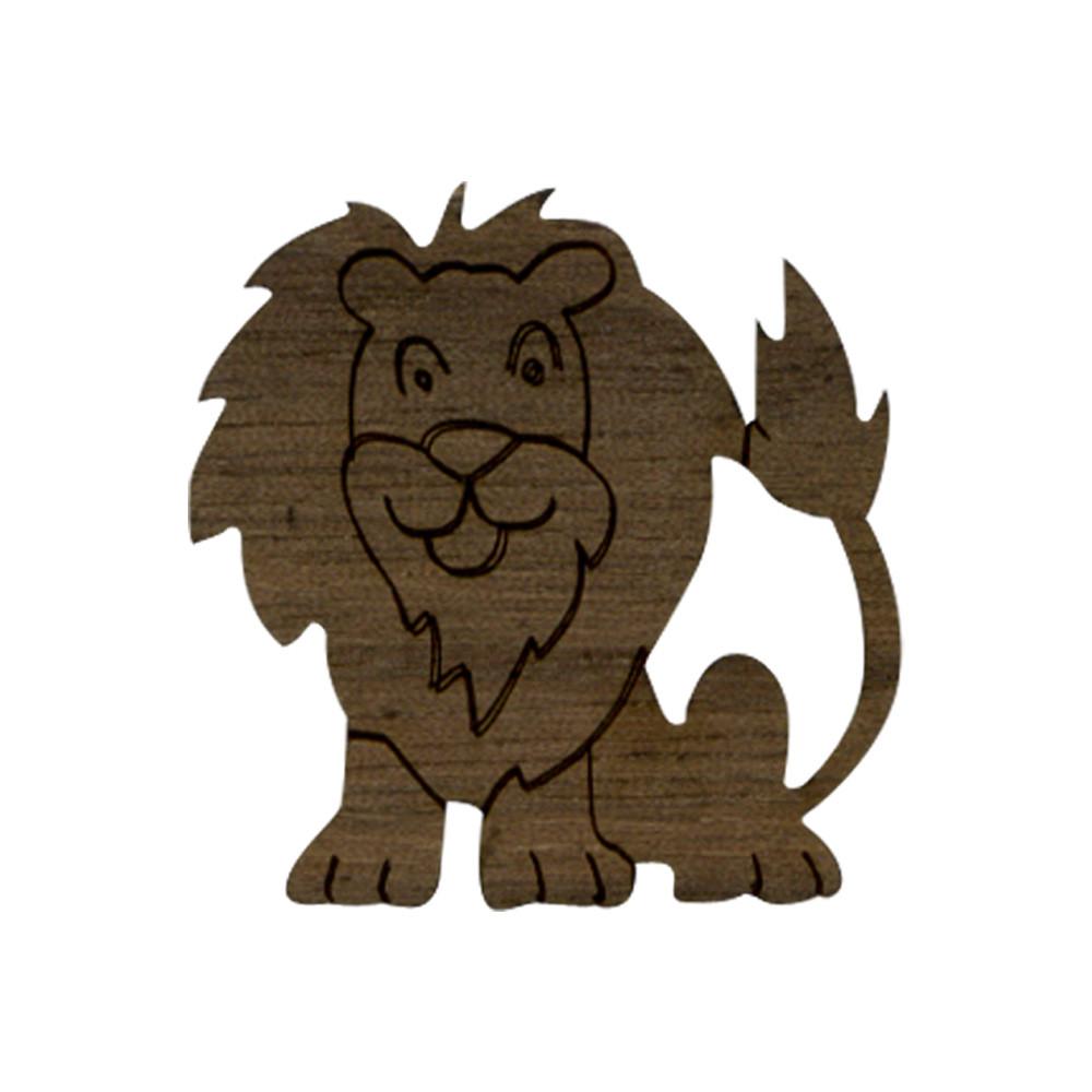Wooden Lion 1 Symbol