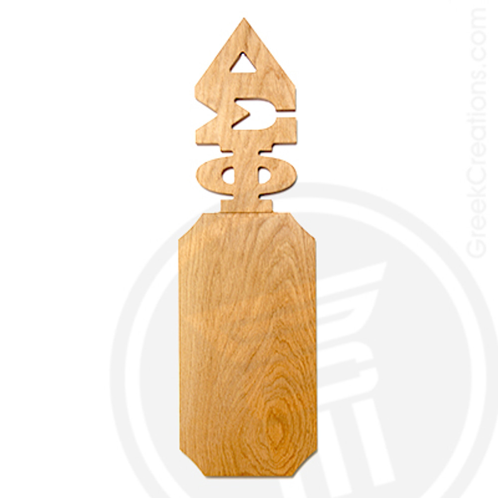 Delta Sigma Phi 21 Inch Blank Greek Letter Paddle