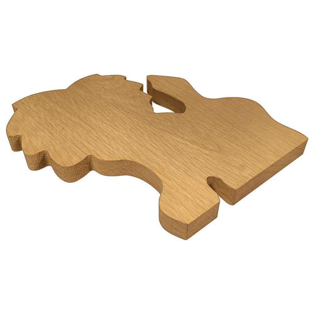 Alpha Delta Pi Lion Board or Plaque Side
