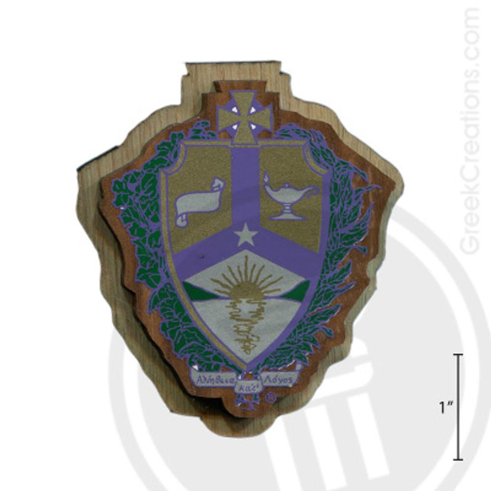Alpha Kappa Lambda Large Raised Wooden Crest