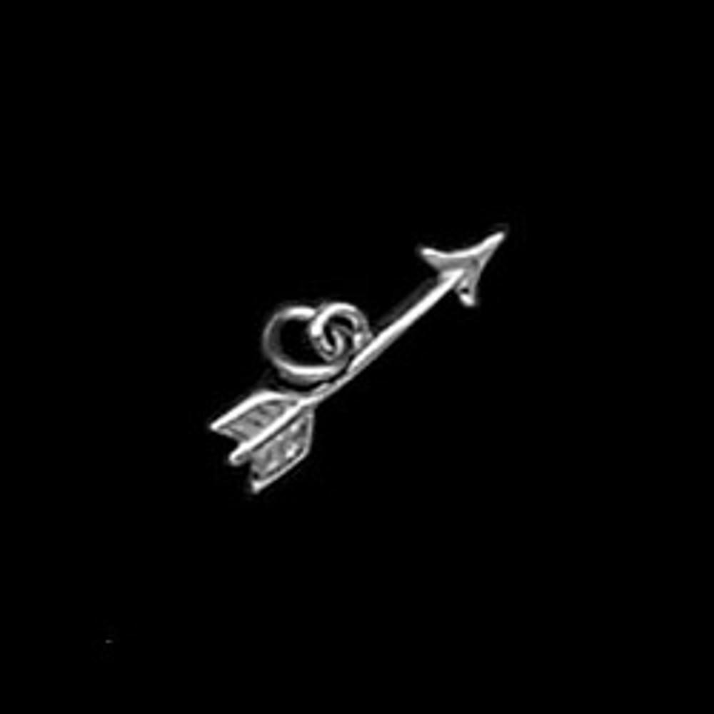 Sterling Silver Small Arrow Symbol