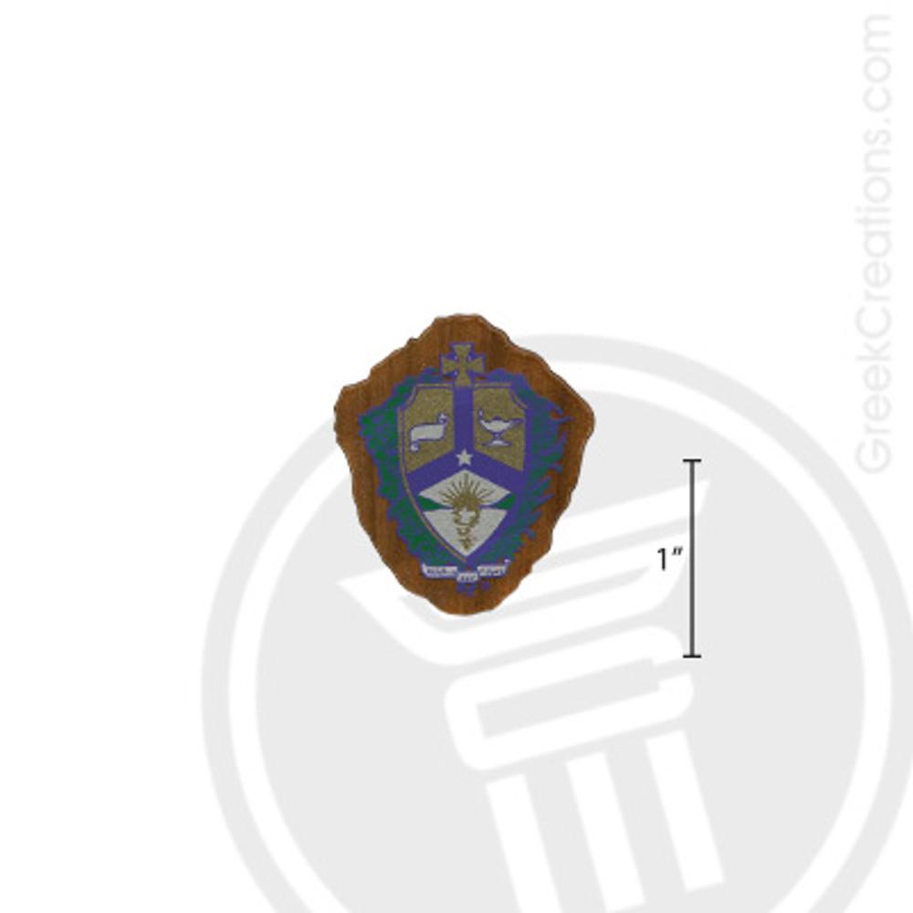 Alpha Kappa Lambda Small Raised Wooden Crest