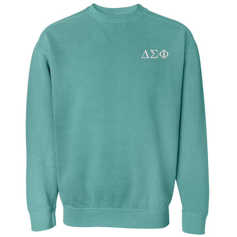 Fraternity & Sorority Comfort Colors Crewneck Sweatshirt