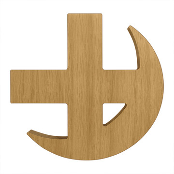 Lambda Chi Alpha Cross & Crescent Board or Plaque