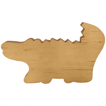 Blank Wooden Alligator Board or Plaque