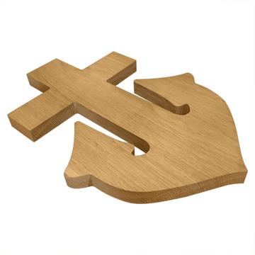 Alpha Sigma Tau Anchor Board or Plaque Side
