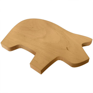 Blank Wooden Pig Board or Plaque Side