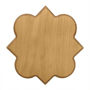Phi Mu Quatrefoil Board or Plaque