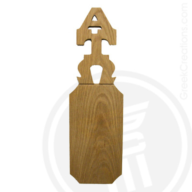 Alpha Tau Omega 21 Inch Blank Greek Letter Paddle