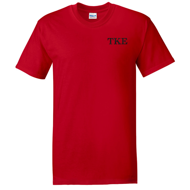 Fraternity & Sorority Embroidered Gildan Short Sleeve T-Shirt