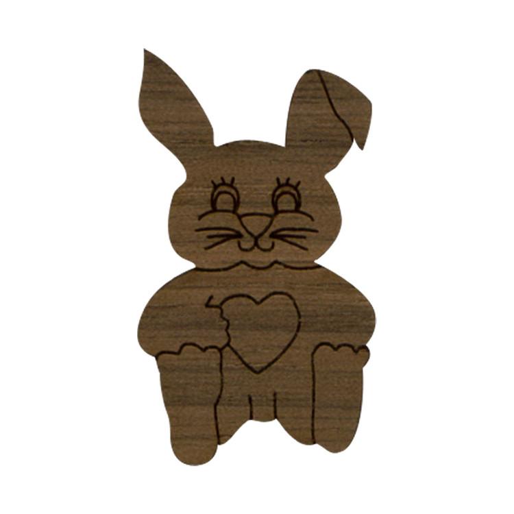 Wooden Bunny Symbol