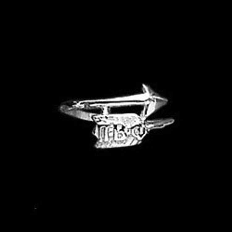 Sterling Silver Pi Beta Phi Arrow Wrap Ring