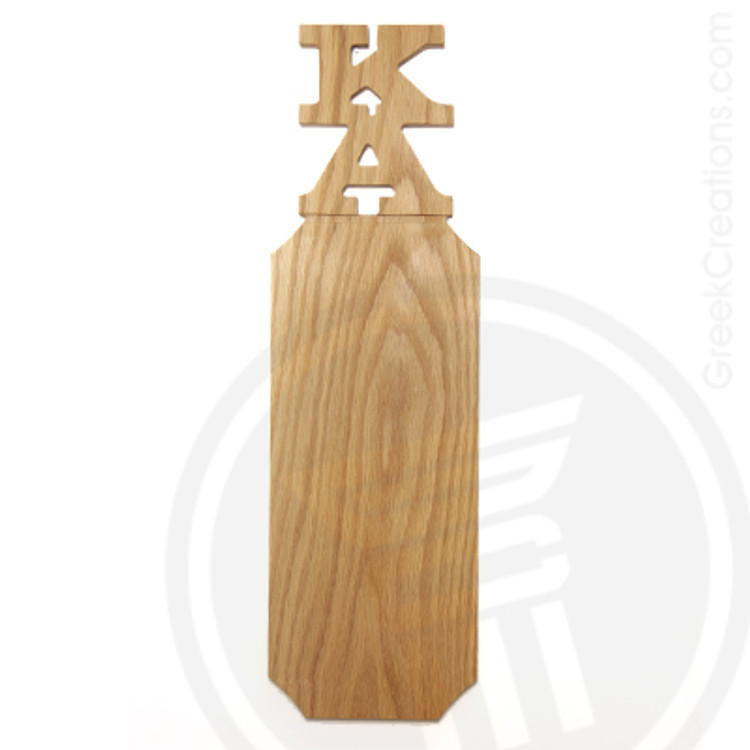 Kappa Alpha 21 Inch Blank Greek Letter Paddle