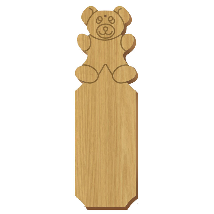 Kappa Delta Bear Oak Plaque