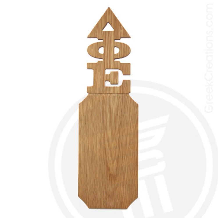 Delta Phi Epsilon 21 Inch Blank Greek Letter Paddle