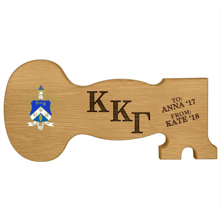 Kappa Kappa Gamma Key Paddle Plaque