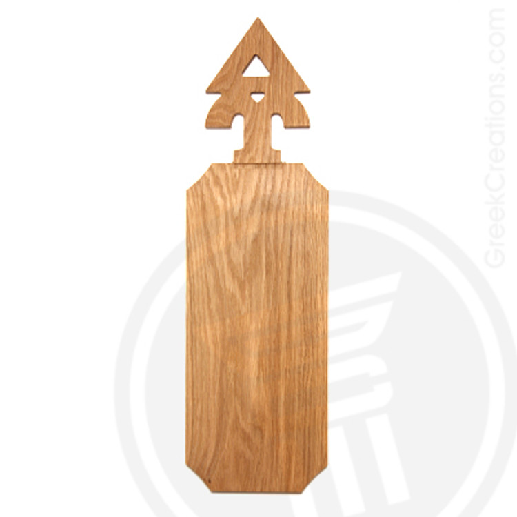 Delta Upsilon 21 Inch Blank Greek Letter Paddle