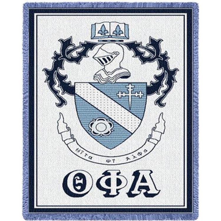 Theta Phi Alpha Crest Afghan