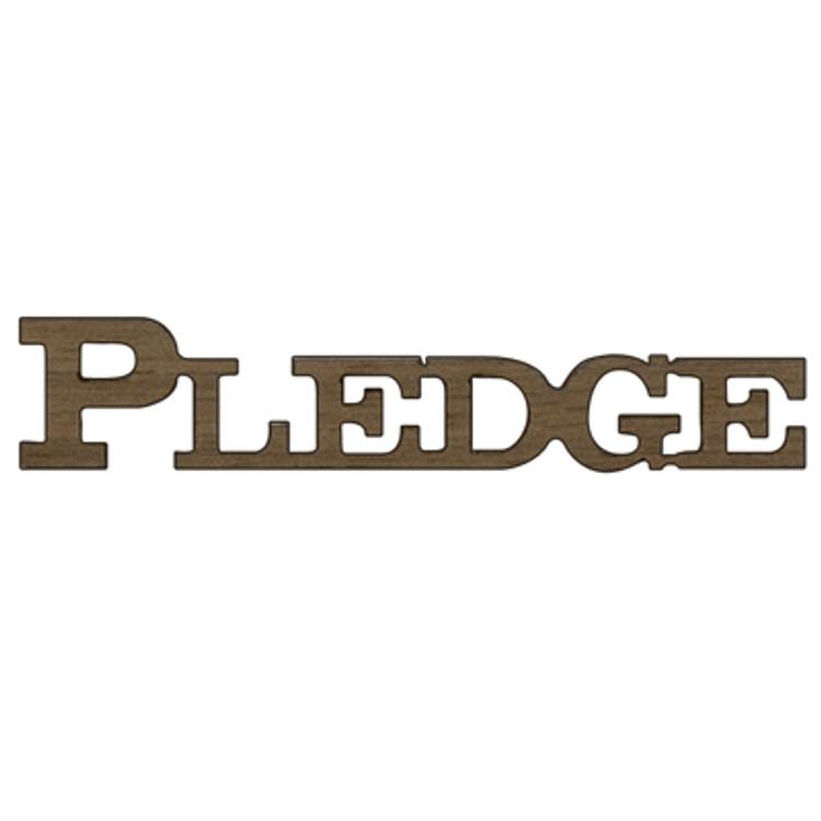 Logo Text - Pledge & Class