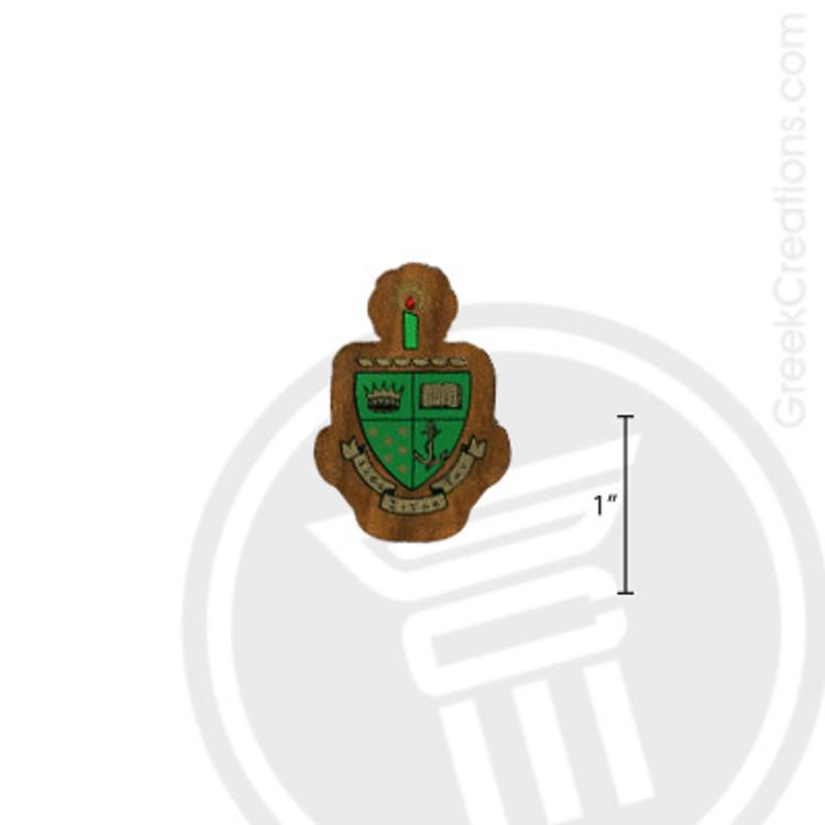 Alpha Sigma Tau Small Raised Wooden Crest