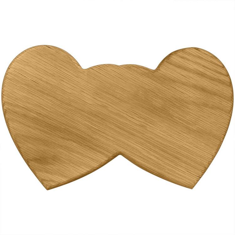 Sigma Kappa Double Heart Board or Plaque