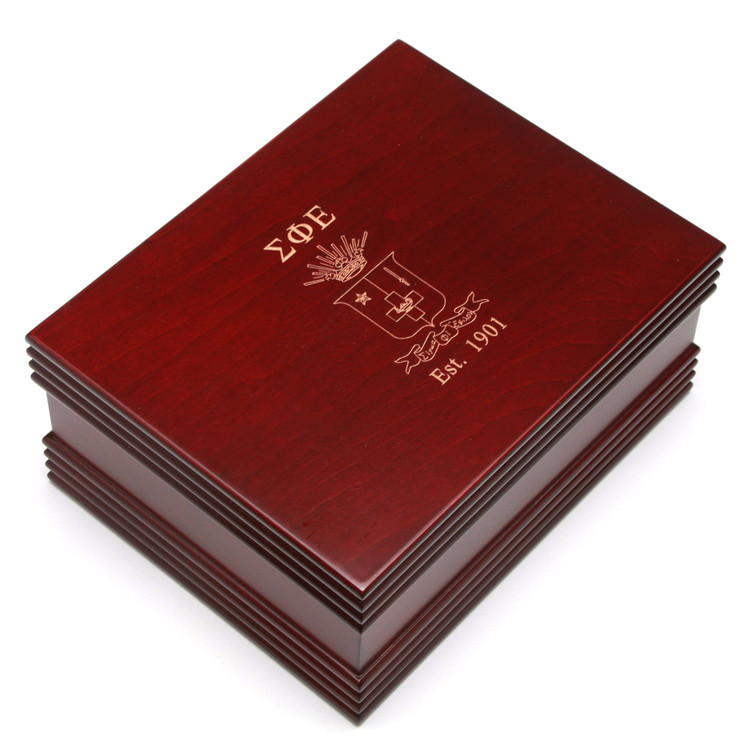 Large Custom Engraved Wooden Box