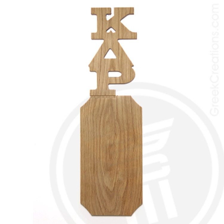 Kappa Delta Rho 21 Inch Blank Greek Letter Paddle
