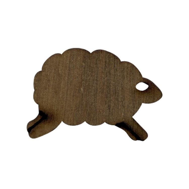 Wooden Lamb Symbol