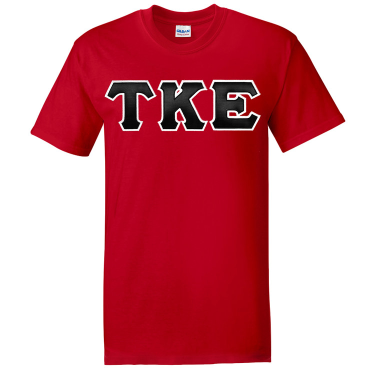 Fraternity & Sorority Lettered Gildan Short Sleeve T-shirt