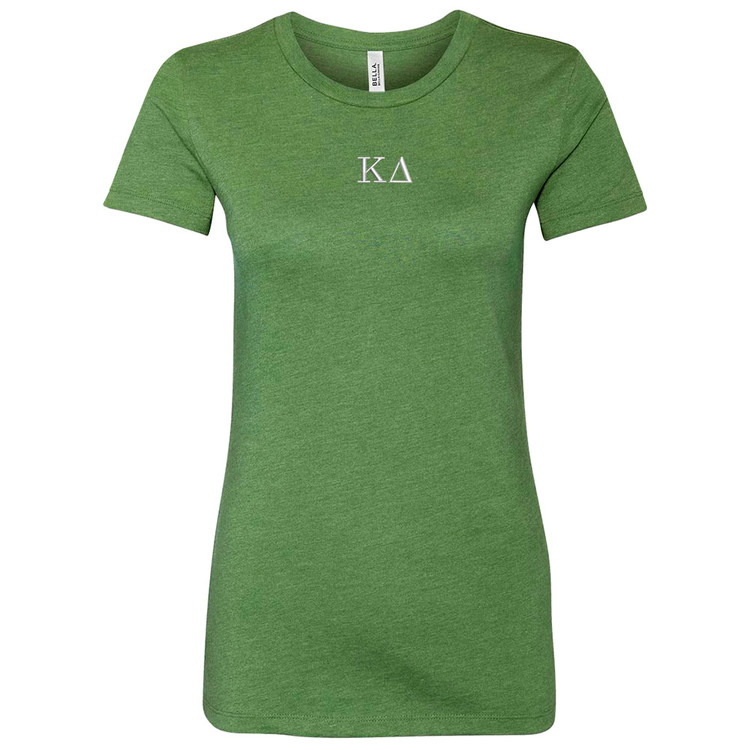 Sorority Embroidered Bella Short Sleeve T-Shirt
