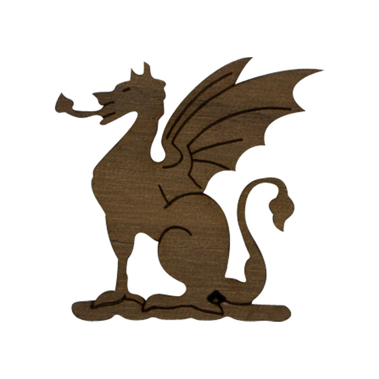 Wooden Dragon Symbol