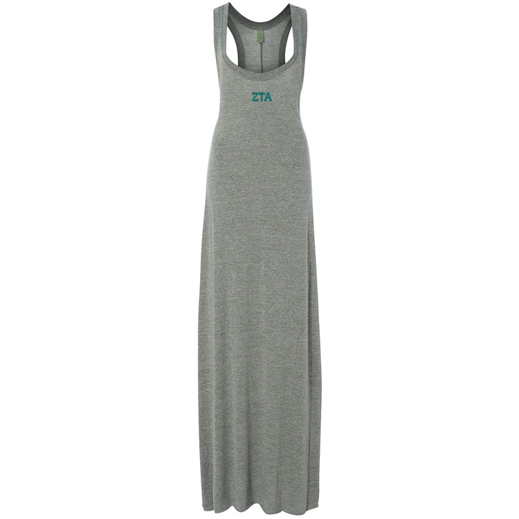 Sorority Embroidered Alternative Ladies Maxi Dress