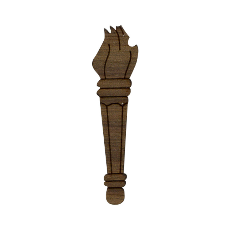 Wooden Torch Symbol