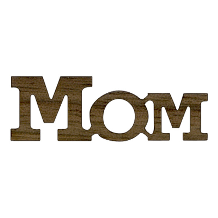 Logo Text - Mom