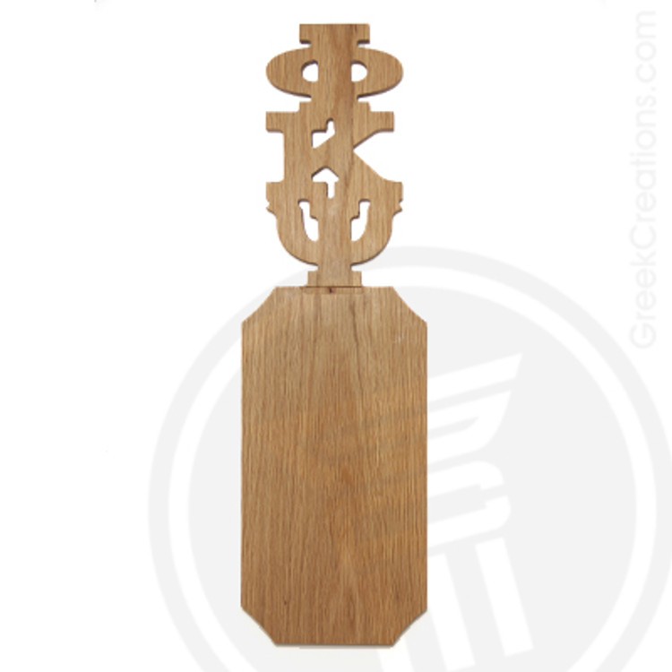 Phi Kappa Psi 21 Inch Blank Greek Letter Paddle