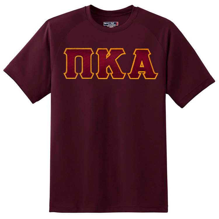 Fraternity & Sorority Lettered Sport Tek Dry Zone T-Shirt