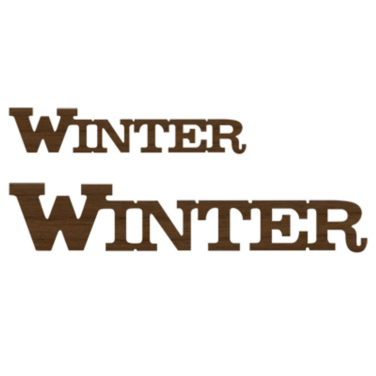 Logo Text - Winter