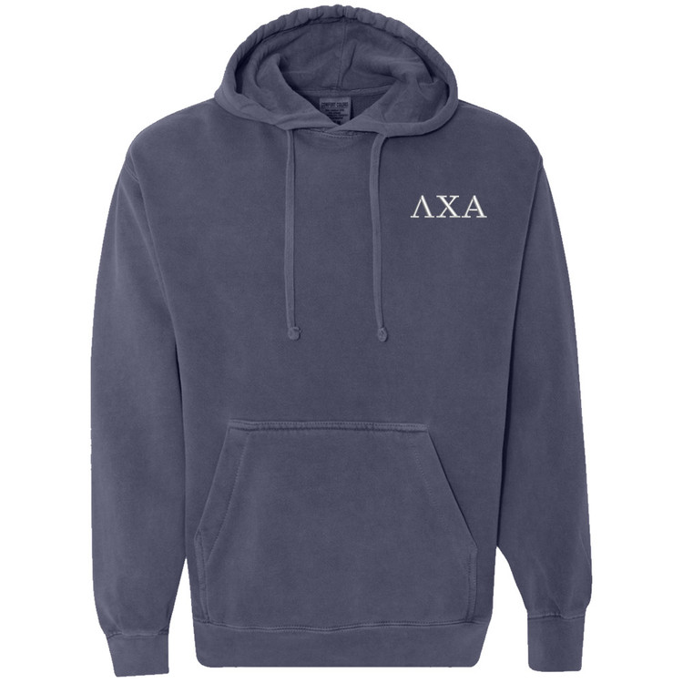 Fraternity & Sorority Comfort Colors Hooded Sweatshirt