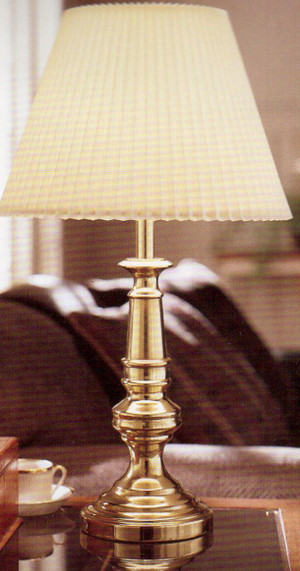 STIFFEL 1338 Classic Coventry Old English Brass Finish Table Lamp
