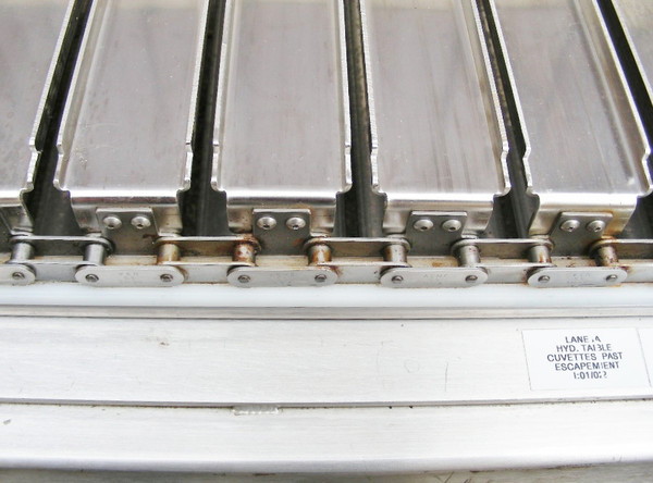 Stainless Steel Conveyor Close up