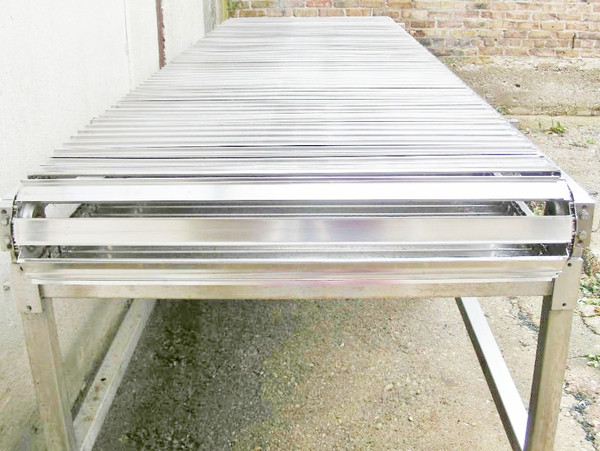 Stainless Steel Conveyor End View