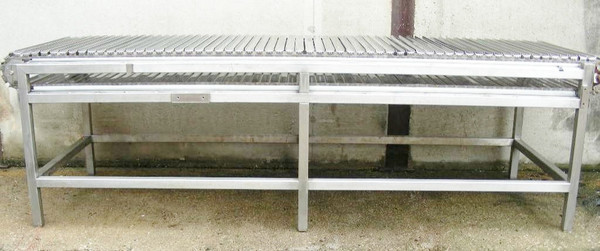 Stainless Steel Conveyor Side View
