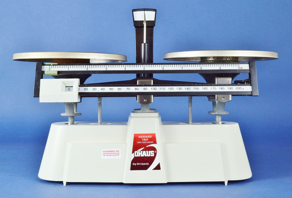 Ohaus Harvard Trip 1400/1500 Series Double Beam Mechanical Balance, 2 kg. (5 lb.)