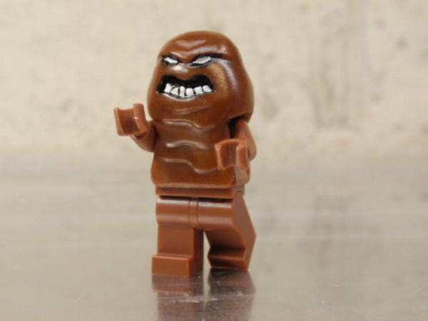 Lego superheroes Batman DC Villian Custom CLAYFACE Minifigure
