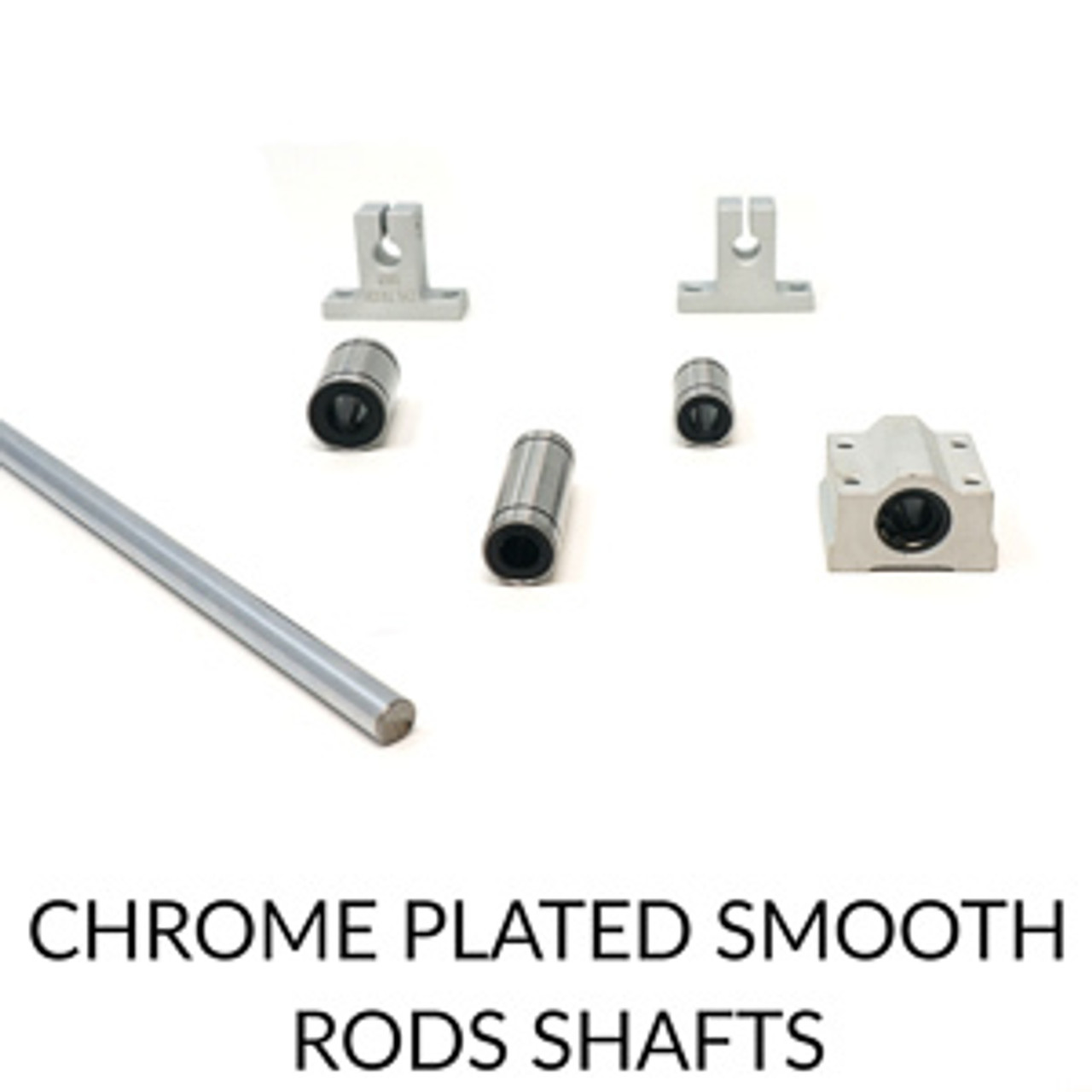 Chrome Plated Smooth Rods Shafts