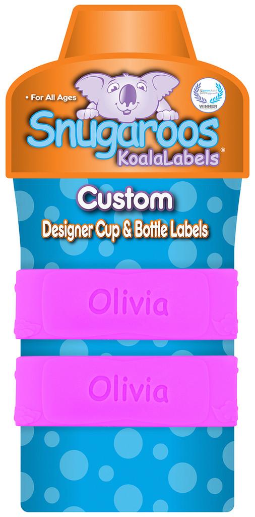 """Custom Pizazz Pink """"Butterflies"""" (2 Pack)"""